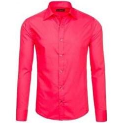 0adcc8e7bc6f Różowe koszule męskie denley w wyprzedaży w Domodi