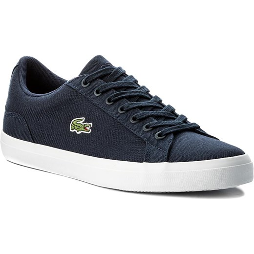 Sneakersy LACOSTE - Lerond Bl 2 Cam 7-33CAM1033003 Nvy Lacoste czarny 47 eobuwie.pl