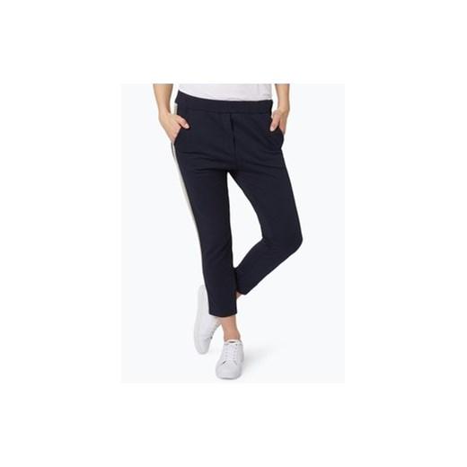6df5406a7dafae Please - Damskie spodnie dresowe, niebieski czarny vangraaf w Domodi