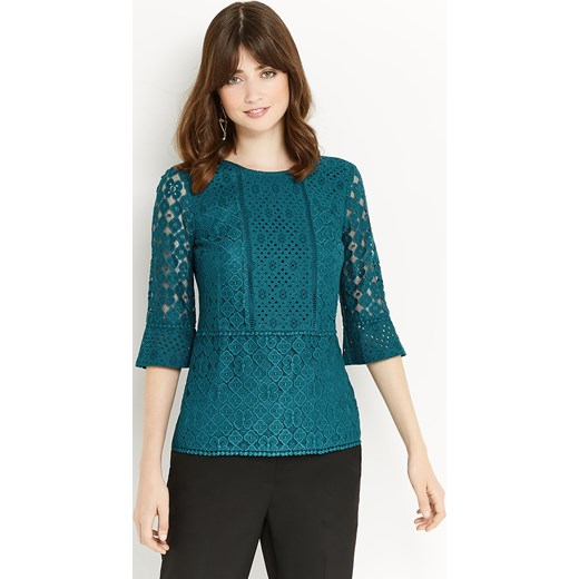 KICK SLEEVE LACE TOP   Oasis