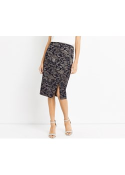 JACQUARD WRAP PENCIL SKIRT   Oasis  - kod rabatowy