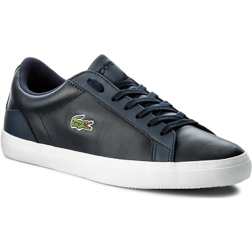 Sneakersy LACOSTE - Lerond Bl 1 Cam 7-33CAM1032003 Nvy szary Lacoste 44.5 eobuwie.pl