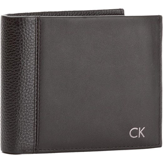 54fcee839216e Duży Portfel Męski CALVIN KLEIN BLACK LABEL - Nathan 10Cc + Coin + Pass  K50K503142 001