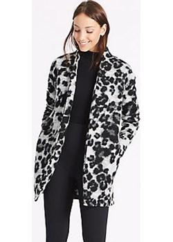 Textured Animal Print Jacket   Marks & Spencer Marks&Spencer - kod rabatowy