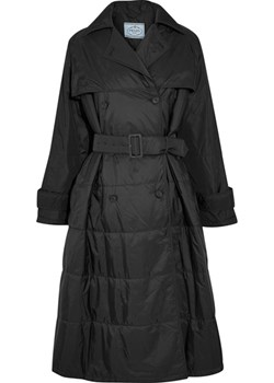 Oversized double-breasted quilted shell coat   NET-A-PORTER - kod rabatowy