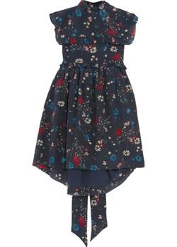 Baby Doll floral-print silk crepe de chine mini dress   NET-A-PORTER - kod rabatowy