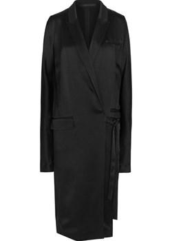 Belted satin coat   NET-A-PORTER - kod rabatowy