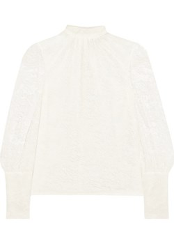 Chantilly lace turtleneck top    NET-A-PORTER - kod rabatowy
