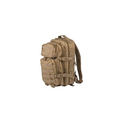 5bef81c22aef4 plecak taktyczny Mil-Tec Assault 20L mały COYOTE (14002005) brazowy /  Niemcy ?