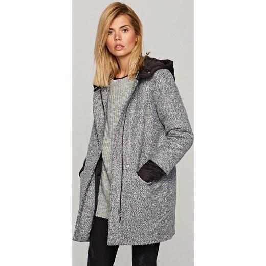 bekannte Marke immer beliebt beliebt kaufen Reserved - Płaszcz z pikowaną podszewką Szary