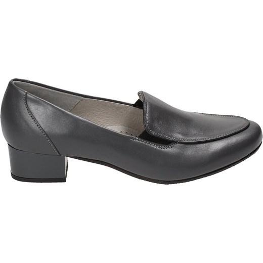 119cf76854a88 Grafitowe półbuty damskie PESCO Pesco 39 Wojtowicz Awangarda Shoes ...
