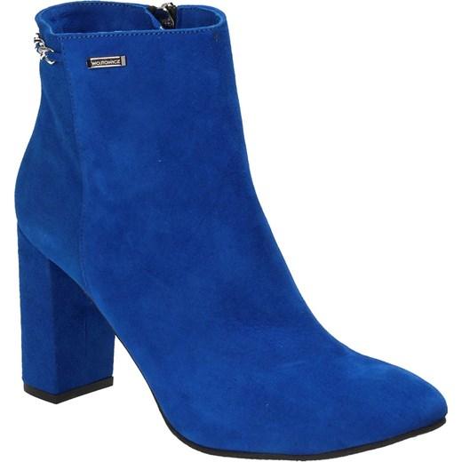 44724eca3efc3 ... Niebieskie botki damskie WOJTOWICZ Wojtowicz 39 Wojtowicz Awangarda  Shoes ...