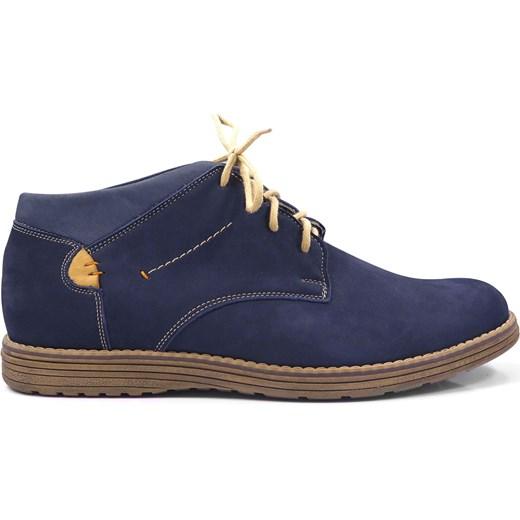 553eb68b91d249 Granatowe obuwie zimowe T73 Faber - Obuwie Męskie szary 40 wyprzedaż Modini