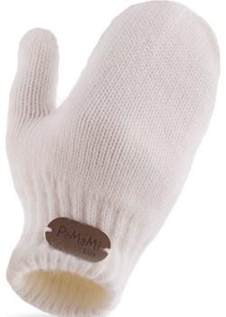 Rękawiczki dziewczęce PaMaMi - Ecru bezowy Pamami  - kod rabatowy