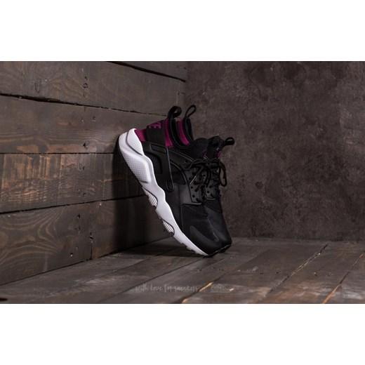 Nike Air Huarache Run Ultra (GS) Black  Tea Berry-Black-White szary ... bcb429411578