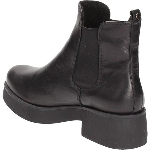 8c261e81cf69a ... Czarne sztyblety damskie KARINO Karino czarny 36 Wojtowicz Awangarda  Shoes ...