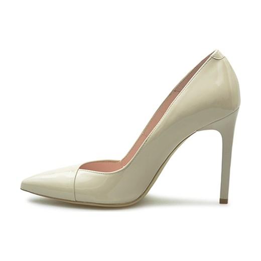 81d821f0d9b88 Czółenka Bravo Moda 1305 Różowe lakier bialy Arturo-obuwie w Domodi