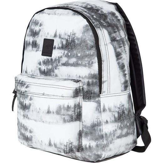 fa429bd1f53a7 Plecak miejski damski PCD200Z - allover czarno-biały 4F w Domodi