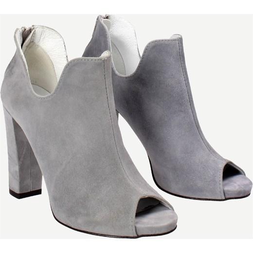 9968ba82d7bf0 Awangarda Domodi Szare W Damskie Szary Wojtowicz Shoes Botki w77aqrI