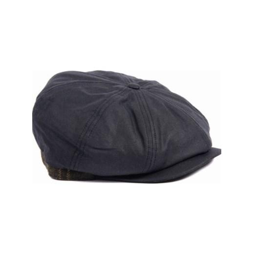 Męska czapka woskowana-Barbour Guillemot Baker Boy Hat Barbour szary M  Heritage   Tradition Barbour f2fdd2fb60b