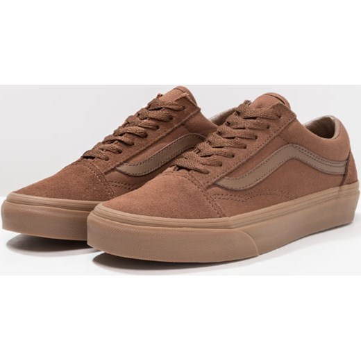 vans old skool brązowe