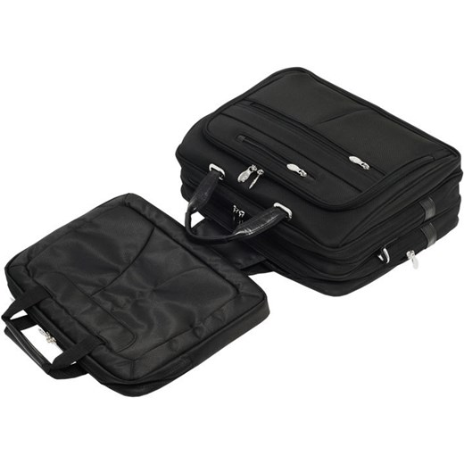 ec446155700f9 Mcklein Rockford 76515 torba męska z nylonu na laptopa 17  czarna czarny Mcklein  Skorzana.