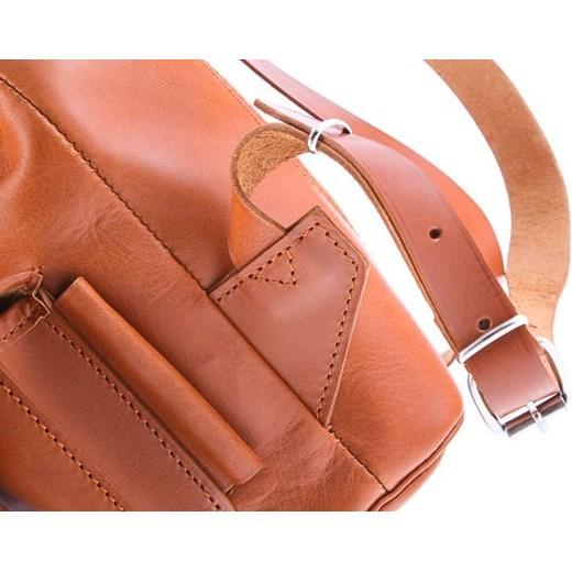 fda27975769fd Mały plecak skórzany Vintage P2 NATURAL VOOC Tanie-Zakupy.com w Domodi