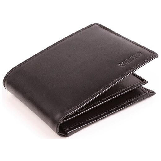 d3211a4b0862d Skórzany portfel męski PPM6 BLACK VOOC Tanie-Zakupy.com w Domodi