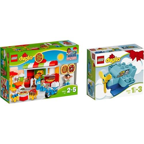 Klocki Lego Duplo Pizzeria 10834 Samolot 10849 Oficjalny Sklep