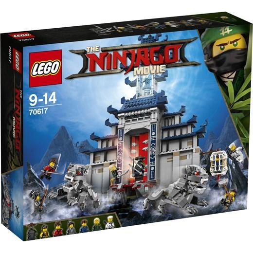 Klocki Lego Ninjago Movie świątynia Broni Ostatecznej 70617