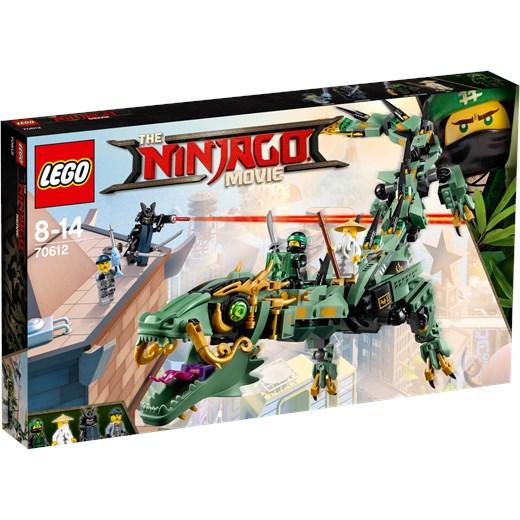 Klocki Lego Ninjago Movie Mechaniczny Smok Zielonego Ninja 70612