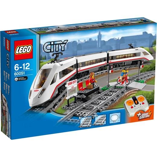 Klocki Lego City Superszybki Pociąg Pasażerski 60051 Oficjalny Sklep
