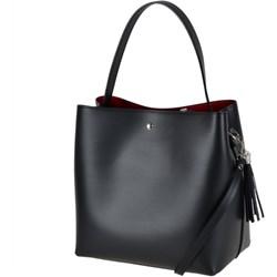 7b8a9ed43b741 Vezze- torebka czarna skórzana nowy wzór l
