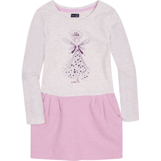 af619677 Sukienka z odcinanym dołem dla dziewczynki 9-13 lat Endo fioletowy endo.pl