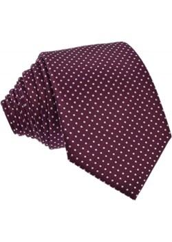 Krawat jedwabny w kropki szary Republic Of Ties  - kod rabatowy