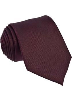 Krawat jedwabny  - jednolity brązowy / bordowy Republic Of Ties czarny  - kod rabatowy