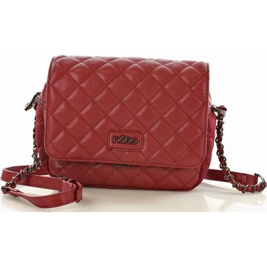 41fdd3061cf26 NOBO Pikowana torebka glamour ciemnoczerwony czerwony wyprzedaż Verostilo  ...