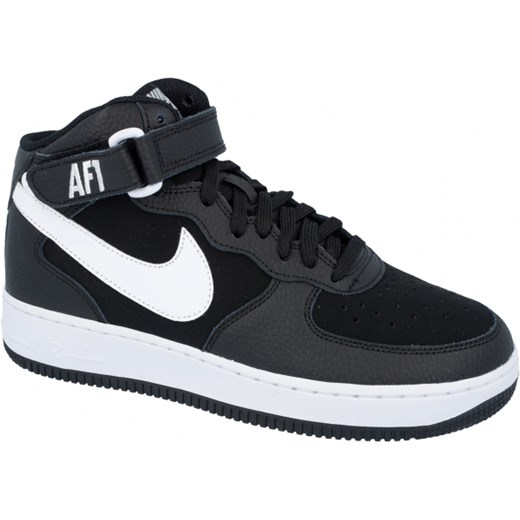 ecc284adeec Buty Nike Air Force 1 Mid (GS) - 314195-038 czarny UrbanGames w Domodi