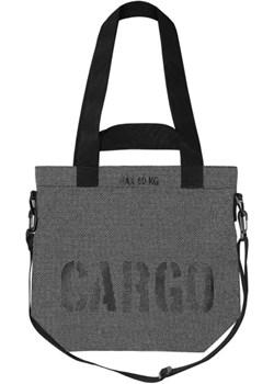 Torba REFLECTIVE print SMALL grey SMALL szary  CARGO by OWEE - kod rabatowy