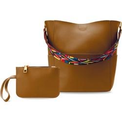 ef189368726de2 Brązowe torebki damskie world-style.pl duże na ramię, lato 2019 w Domodi