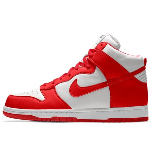 new concept 99271 03792 Nike Dunk High iD czerwony Nike 45.5