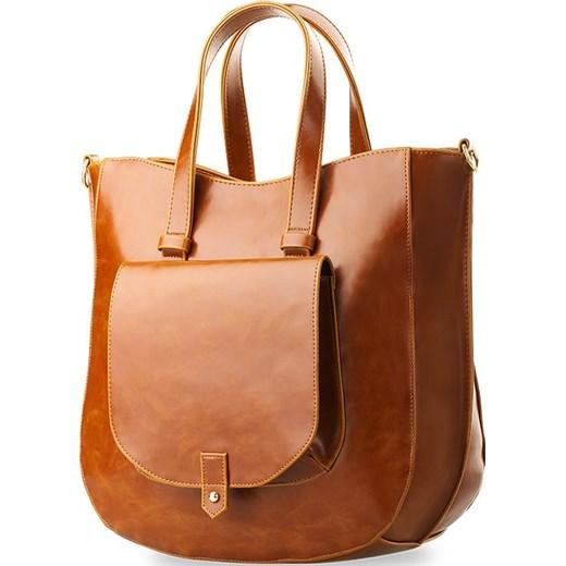 9c8a9df5d139a Modne elegancka duŻa torebka kieszonkĄ czarna world style brazowy na  telefon jpg 520x520 Modne torebki duze