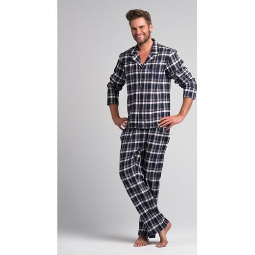 Poważne Męska piżama flanelowa Rossli SAM-PY-043 w kratkę bodyciao w Domodi HB51