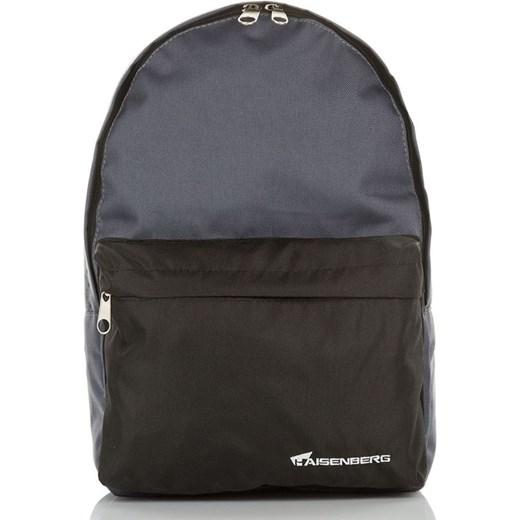 1008fd657d10c Wodoodporny Miejski plecak HAISENBERG Czarny szary Haisenberg One Size  merg.pl ...
