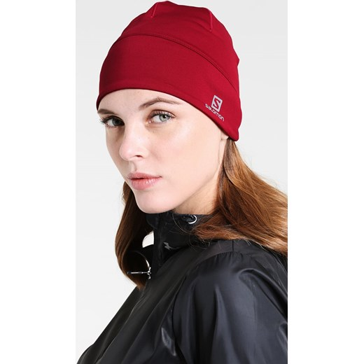 d1adbb62c75 ... Salomon ACTIVE BEANIE Czapka beet red Salomon One Size Zalando ...