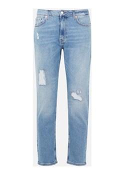 Loose jeansy Cubus niebieski wyprzedaż   - kod rabatowy
