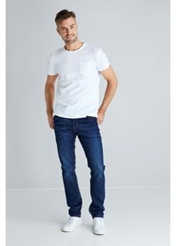 Slim Premium jeansy granatowy Cubus okazja   - kod rabatowy