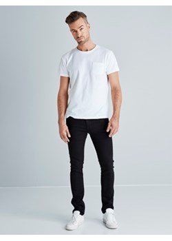 X-slim jeansy  Cubus bialy  - kod rabatowy
