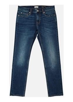 Slim jeansy granatowy Cubus okazyjna cena   - kod rabatowy