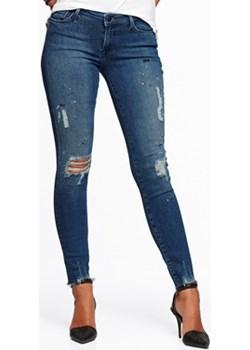Superskinny Sydnee jeansy granatowy Cubus okazyjna cena   - kod rabatowy